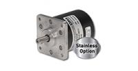 Product Alert Thumbnail: Compact, Absolute Multi-Turn Analog Rotary Shaft Encoder